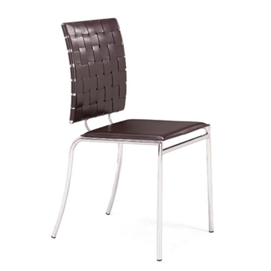 Criss Cross Chair - Espresso